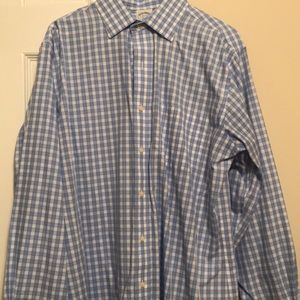 Brooks Brothers Slim fit Dress shirt spread collar